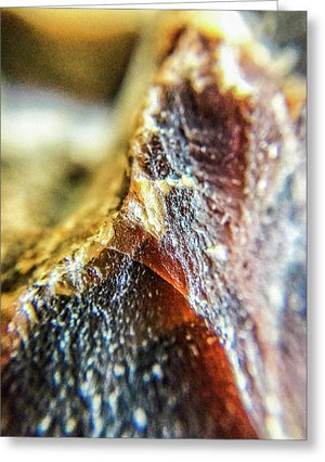 Crystals And Stones Mook Jasper 3440 - Greeting Card - Jani Bryson Intuitive Photographer