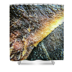 Crystals And Stones Mook Jasper 3452 - Shower Curtain - Jani Bryson Intuitive Photographer