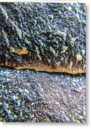Crystals And Stones Mook Jasper 3454 - Greeting Card - Jani Bryson Intuitive Photographer