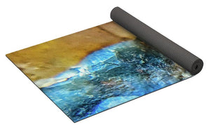 Crystals And Stones Mook Jasper Petrified Wood 3729 - Yoga Mat - Jani Bryson Intuitive Photographer