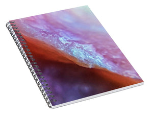 Crystals And Stones Pink Opal 9035 - Spiral Notebook