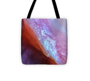 Crystals And Stones Pink Opal 9035 - Tote Bag - Jani Bryson Intuitive Photographer