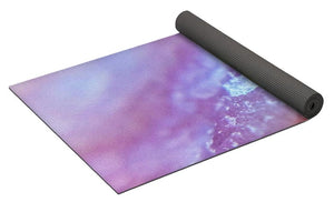 Crystals And Stones Pink Opal 9035 - Yoga Mat - Jani Bryson Intuitive Photographer
