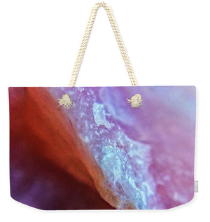 Crystals And Stones Pink Opal 9035 - Weekender Tote Bag - Jani Bryson Intuitive Photographer