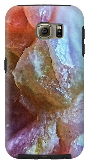 Crystals And Stones Pink Opal 9042 - Phone Case - Jani Bryson Intuitive Photographer