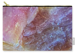 Crystals And Stones Pink Opal 9053 - Carry-All Pouch - Jani Bryson Intuitive Photographer