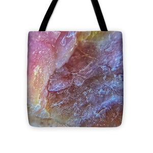 Crystals And Stones Pink Opal 9053 - Tote Bag - Jani Bryson Intuitive Photographer