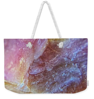 Crystals And Stones Pink Opal 9053 - Weekender Tote Bag - Jani Bryson Intuitive Photographer