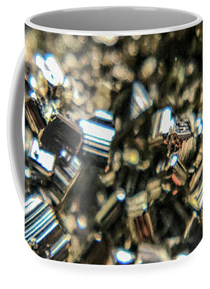 Crystals And Stones Pyrite 3971 - Mug - Jani Bryson Intuitive Photographer