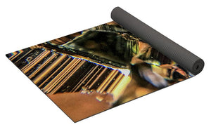 Crystals And Stones Pyrite 9061 - Yoga Mat - Jani Bryson Intuitive Photographer
