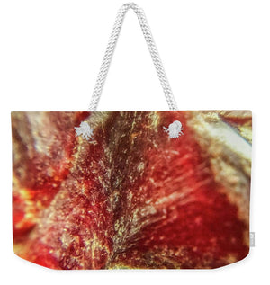 Crystals And Stones Red Carnelian 2548 - Weekender Tote Bag - Jani Bryson Intuitive Photographer