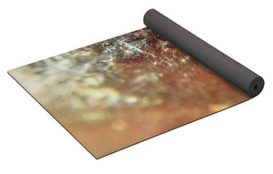 Crystals And Stones Red Carnelian 2549 - Yoga Mat - Jani Bryson Intuitive Photographer