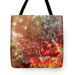 Crystals And Stones Red Carnelian 2549 - Tote Bag - Jani Bryson Intuitive Photographer
