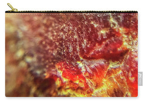 Crystals And Stones Red Carnelian 2549 - Carry-All Pouch - Jani Bryson Intuitive Photographer