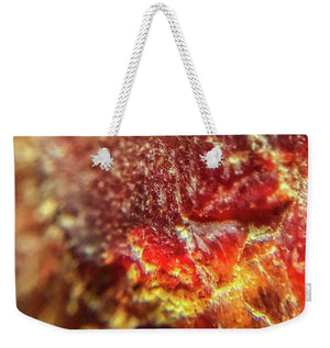 Crystals And Stones Red Carnelian 2549 - Weekender Tote Bag - Jani Bryson Intuitive Photographer