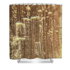Crystals And Stones Selenite 5193 - Shower Curtain - Jani Bryson Intuitive Photographer