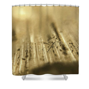 Crystals And Stones Selenite 5266 - Shower Curtain - Jani Bryson Intuitive Photographer