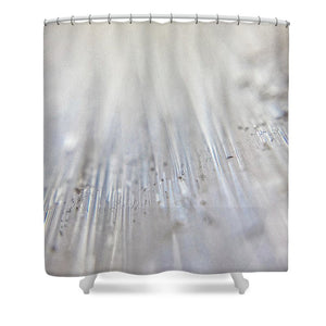 Crystals And Stones Selenite 5371 - Shower Curtain - Jani Bryson Intuitive Photographer