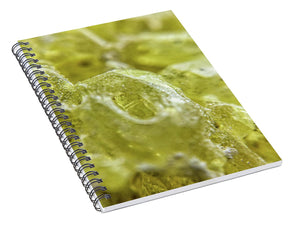 Crystals And Stones Sulphur 1617  - Spiral Notebook - Jani Bryson Intuitive Photographer