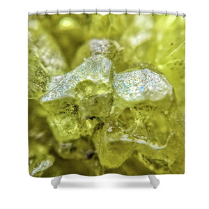 Crystals And Stones Sulphur 1656 - Shower Curtain