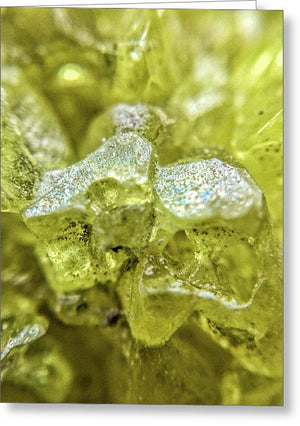Crystals And Stones Sulphur 1656 - Greeting Card