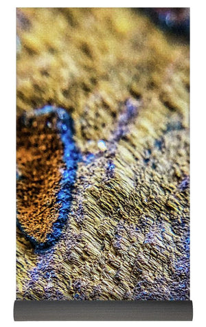 Crystals And Stones Tiger Eye 4689 - Yoga Mat - Jani Bryson Intuitive Photographer
