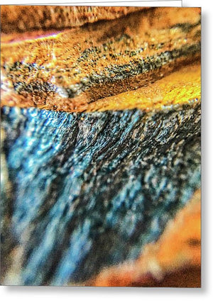 Crystals And Stones Tiger Eye 4775 - Greeting Card - Jani Bryson Intuitive Photographer