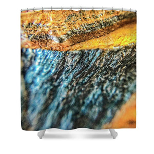 Crystals And Stones Tiger Eye 4775 - Shower Curtain - Jani Bryson Intuitive Photographer