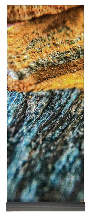Crystals And Stones Tiger Eye 4775 - Yoga Mat - Jani Bryson Intuitive Photographer