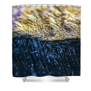 Crystals And Stones Tiger Eye 4796 - Shower Curtain - Jani Bryson Intuitive Photographer