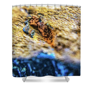 Crystals And Stones Tiger Eye 4809 - Shower Curtain - Jani Bryson Intuitive Photographer