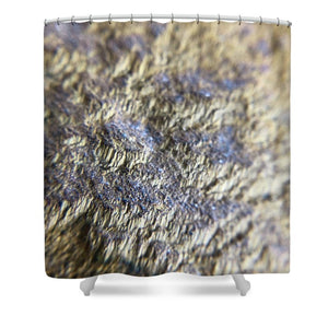 Crystals And Stones Tiger Eye 4812 - Shower Curtain - Jani Bryson Intuitive Photographer