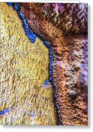 Crystals And Stones Tiger Eye 4837 - Greeting Card - Jani Bryson Intuitive Photographer