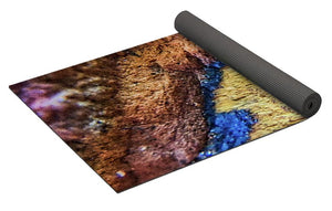 Crystals And Stones Tiger Eye 4837 - Yoga Mat - Jani Bryson Intuitive Photographer