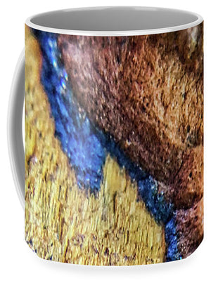 Crystals And Stones Tiger Eye 4837 - Mug - Jani Bryson Intuitive Photographer