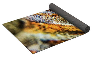 Crystals And Stones Trilobite Geode 4373 - Yoga Mat - Jani Bryson Intuitive Photographer