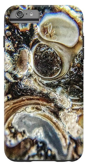 Crystals And Stones Turritella Agate 2456 - Phone Case - Jani Bryson Intuitive Photographer