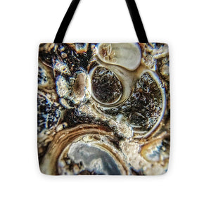 Crystals And Stones Turritella Agate 2456 - Tote Bag - Jani Bryson Intuitive Photographer