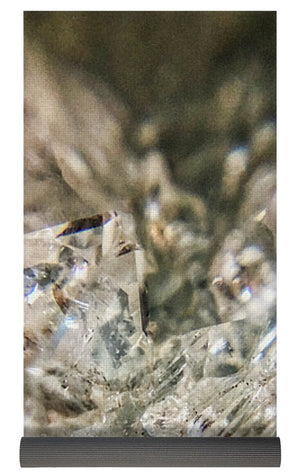 Crystals And Stones Zeolite 4718 - Yoga Mat - Jani Bryson Intuitive Photographer