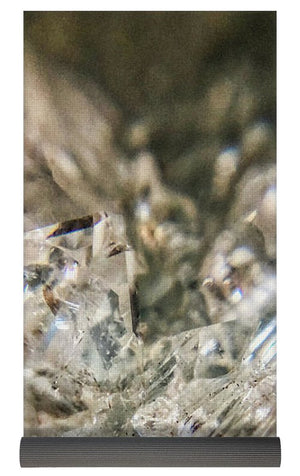 Crystals And Stones Zeolite 4731  - Yoga Mat - Jani Bryson Intuitive Photographer