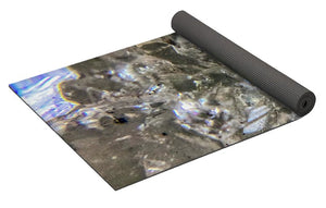 Crystals And Stones Zeolite 4884 - Yoga Mat - Jani Bryson Intuitive Photographer