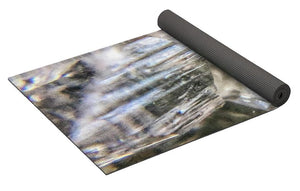 Crystals And Stones Zeolite 4922 - Yoga Mat - Jani Bryson Intuitive Photographer