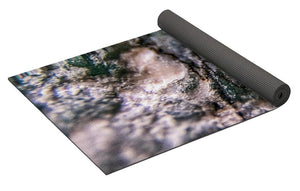 Crystals And Stones Amazonite 7927 - Yoga Mat - Jani Bryson Intuitive Photographer