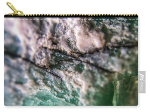 Crystals And Stones Amazonite 7927 - Carry-All Pouch - Jani Bryson Intuitive Photographer