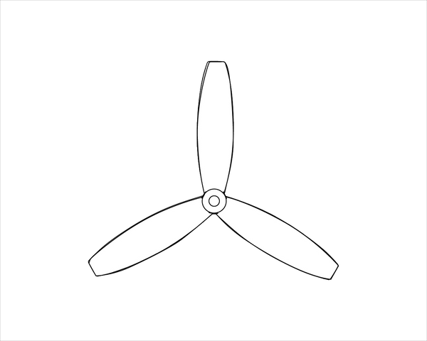 Sky Force Propeller Blades Set
