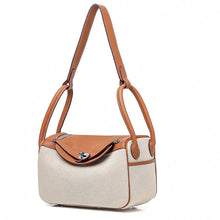 First layer cowhide shoulder bag doctor bag