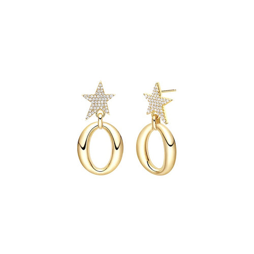 Star Earrings/Gold/Starry Collection/SS925