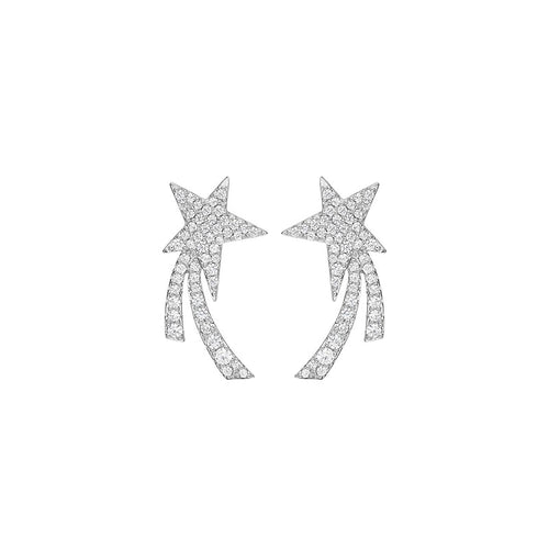 Meteorite Earrings/Starry Collection/SS925