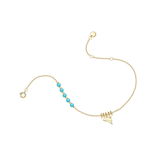 Shark Anklet/Animal Collection/S925