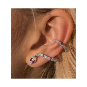 Snake Earcuff Earrings